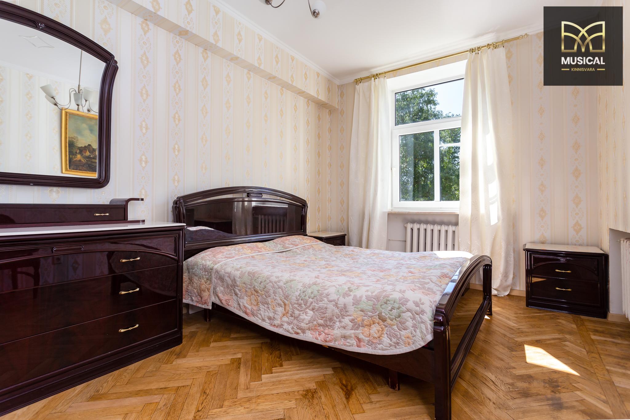 Üürida avar ja ilus 3-toaline korter Tallinna südames