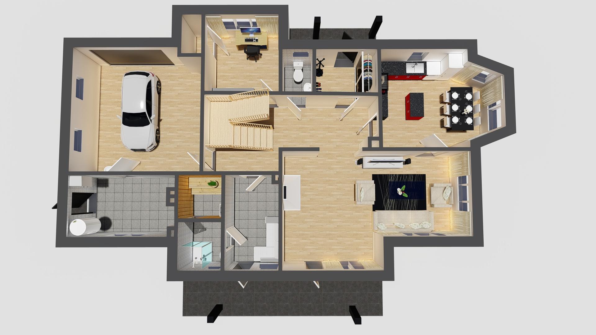 1 korrus pööratuna