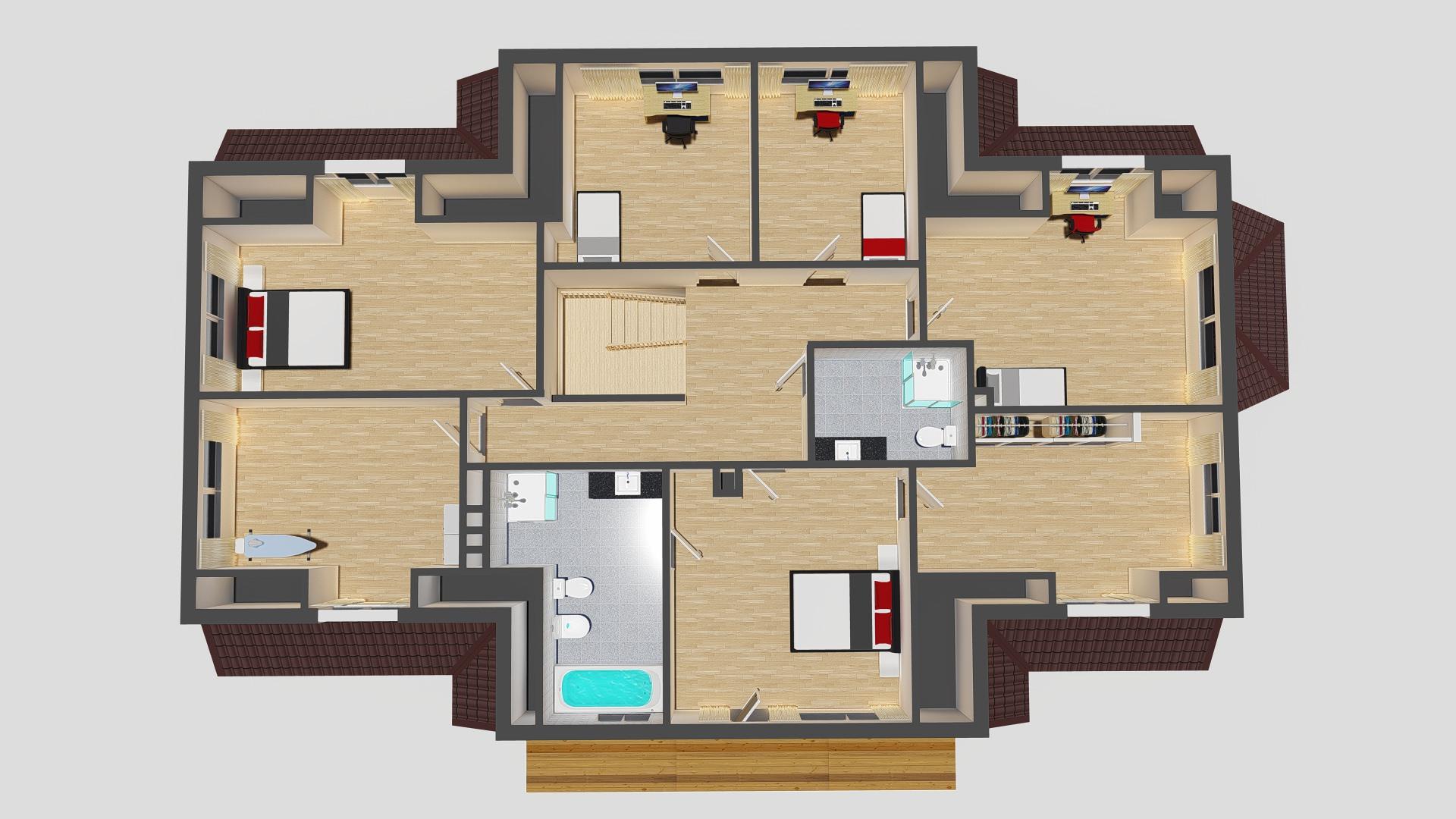 2 korrus pööratuna