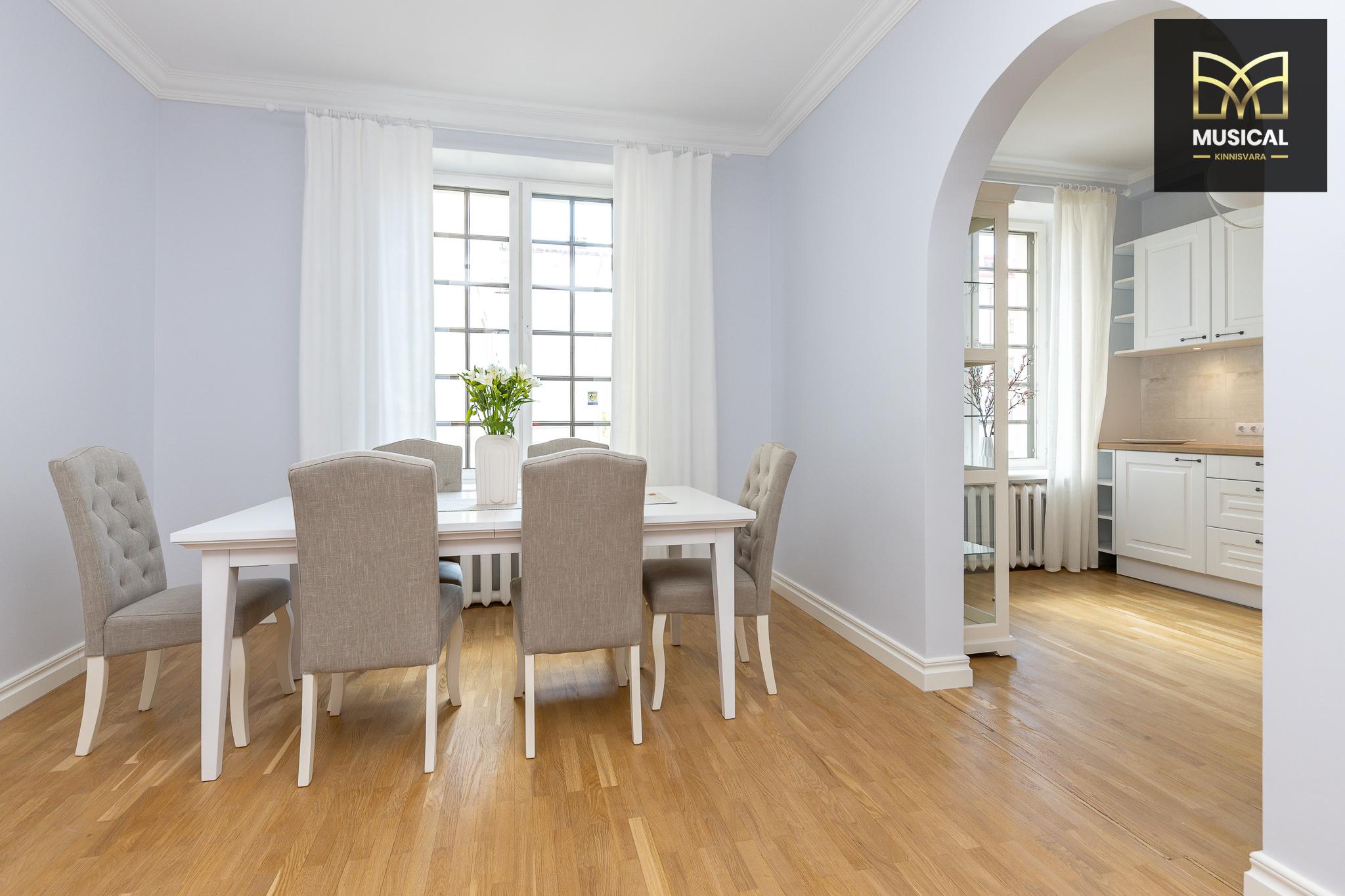 Üürile anda kaunis 4-toaline kodu Tallinna südames!